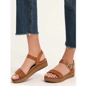 Steve Madden Aida Ankle Strap Platform Sandals